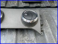 05-09 Mustang BLACK Dash Trim AC Vents Speedo Gauge Bezel Pass Side Cover Set