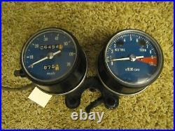 1973-75 Honda XL175 Speedometer and Tachometer Gauge Set NICE Speedo Tach XL 175