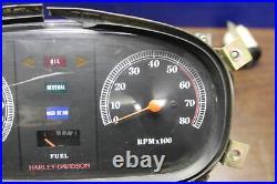 1984-1992 Harley Electra Glide Flht Evo Gauges SET Meter Speedo Tach
