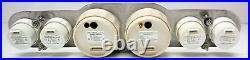 6 Gauge Set Electronic + Gps Speedo Sender White Face Hot Rod, Ford, Chev
