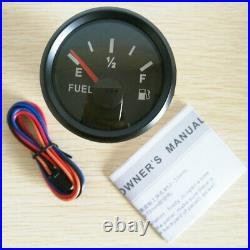 6 Gauge Set with Sendesr, Speedo Odo Trip Tacho Fuel Volt Oil Pressure Temp Black