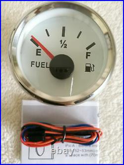 6 Gauge set, 85MM GPS 200MPH Speedo With Light, Tacho, Fuel, Temp, Volts, Oil Pressure