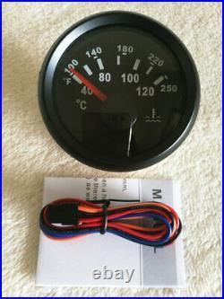 6 Gauge set, GPS 200MPH Speedo With Light, Tachometer, Fuel, Temp, Volts, Oil Pressure