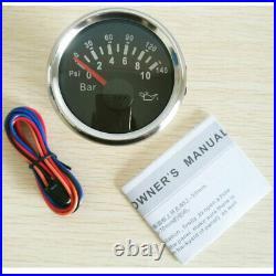 6 Gauge set with Senders, 120KPH Speedo Tacho Fuel Volts Meter Oil Pressure Temp