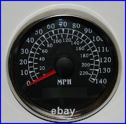 6 Gauge set witho senders, Speedo, Tacho, Oil, Temp, Fuel, Volt, BWGreen