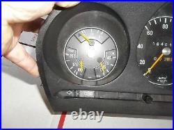 72-73 Mercedes 450 SL gauge cluster set speedo gauges & tach VDO early rare set