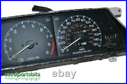 88 89 90 91 Toyota Corolla GTS Gauge Cluster Set Oil Volt Speedo Oem 4AGE 16V