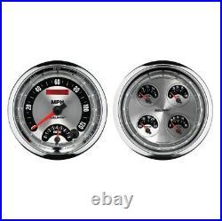 Auto Meter 1205 2 Pc. American Muscle 5 Quad Gauge/Tach/Speedo Combo NEW