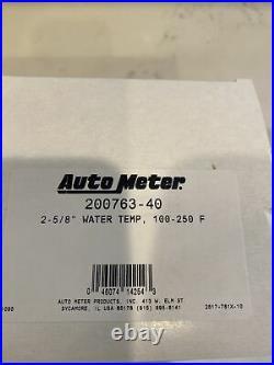 Auto Meter Pro-Comp Carbon Marine Gauge Set Speedo, Fuel X2, Oil, Volts, Water