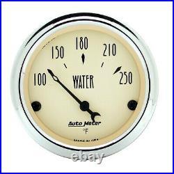 AutoMeter 1840 Antique Beige 5 Gauge Set Fuel/Oil/Speedo/Volt/Water