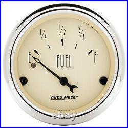 AutoMeter 1850 Antique Beige 5 Gauge Set Fuel/Oil/Speedo/Volt/Water