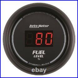 AutoMeter 6300 Sport-Comp Digital 5 Gauge Set Fuel/Oil/Speedo/Volt/Water