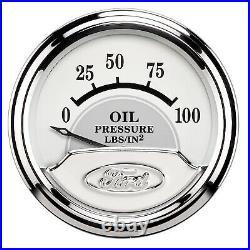 AutoMeter 880087 Ford Masterpiece Gauge Set Fuel/Oil/Speedo/Volt/Water