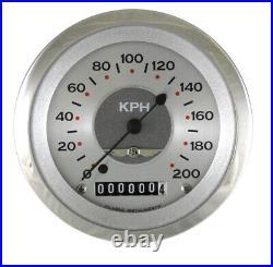 Classic Instruments All American Original Series 6 Gauge Set AW01SRC Speedo KPH