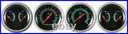 Classic Instruments G Stock Series 4 Gauge Set Flat Glass GS05SLF-KPH KPH speedo