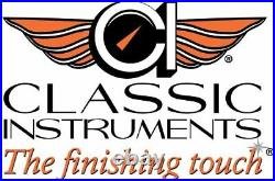 Classic Instruments WH02SLF White Hot 2 Gauge Set 3-3/8 Speedo/Quad SLF