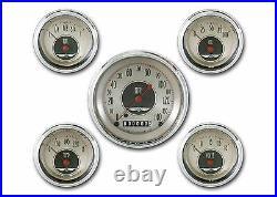 Classic instruments all american nickel series 5 gauge set an00shc speedo tach