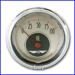 Classic instruments all american nickel series 6 gauge set an01shc speedo tach
