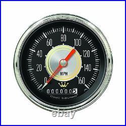 Classic instruments hollywood hot rod series 5 gauge set hh00slc speedo tach