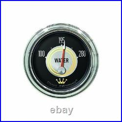 Classic instruments hollywood hot rod series 6 gauge set hh01slc speedo tach