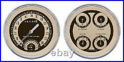 Classic instruments nostalgia vt series 2 gauge set nt62slc speedo tach 5 set