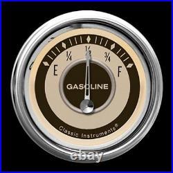 Classic instruments nostalgia vt series 5 gauge set nt54slc speedo tach fuel oil