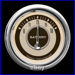 Classic instruments nostalgia vt series 6 gauge set nt01shc speedo tach