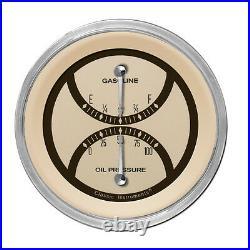 Classic instruments nostalgia vt series gauge set nt61slc speedo and duals