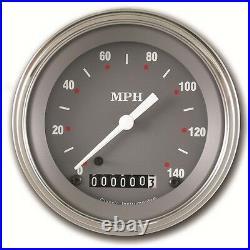 Classic instruments sg series 3 3/8 inch speedo sg02slf 2 gauge set flat glass