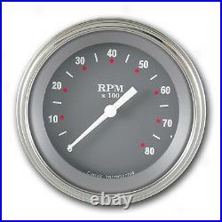Classic instruments sg series 3 3/8 speedo+dual sg05slf 4 gauge set flat glass
