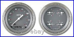 Classic instruments sg series 4 5/8 inch speedo sg52slf 2 gauge set flat glass