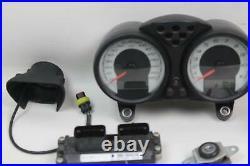 Ducati Monster S4R S4RS 07-08 Gauge Speedo Dash Ignition Set ECU ECM Key NICE