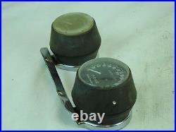 Harley Ironhead Sportster Gauge Cluster Set Speedometer Tachometer Speedo Tach