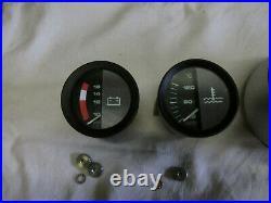 Lamborghini Countach replica gauges set, Speedo, counter instruments