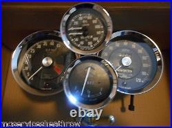 MGA / Twin Cam Instrument Set Speedo Tacho Fuel oil / water gauges