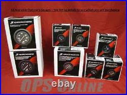 Mercury Outboard Analog Gauge Set- Speedo, 7K Tach, trim, temp, withp, volt, fuel, hours