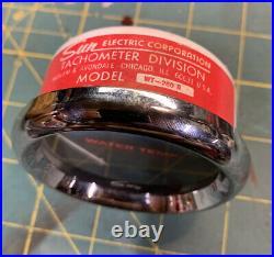 NOS NIB Sun Water Temperature Temp Gauge Wt-260b Stewart Warner Hot Rat Rod Scta