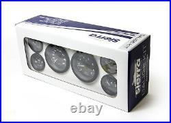 New Eclipse Series Gauges sierra 68413p 6 Gauge Set Tach to 7 000 rpm Speedo