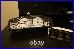 Nismo Nissan Skyline R33 GTR White Speedo Cluster + Triple Gauge Set 24810-RN595