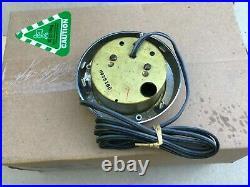 Set of 3x Aqua Meter marine gauges, Speedo, Tacho, Clock (rare)