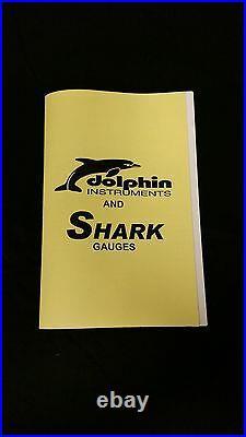 Shark Gauge 5 quad set with programmable speedo STREET ROD HOT ROD, UNIVERSAL