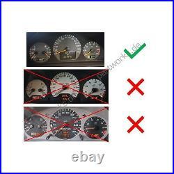 Tacho Display Für Mercedes Clk W208 Tacho Kombiinstrument Var. 3 Set