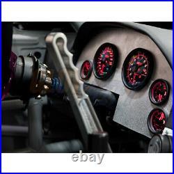 Tinted Gauge Cluster Dash Set w Speedo Tach Oil PSI Fuel Level Volt & Water Temp