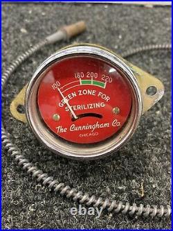 Vintage Industrial Temperature GAUGE Hot Rat Rod Scta Flathead Ford Tractor
