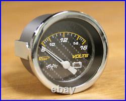 Vw Type 1 Bug Isp Gauge Set 120mph Trip Speedo Gas Gauge Tach Volts Carbon Race