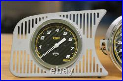 Vw Type 1 Bug Isp Gauge Set 120mph Trip Speedo Gas Gauge Tachometer Carbon Race